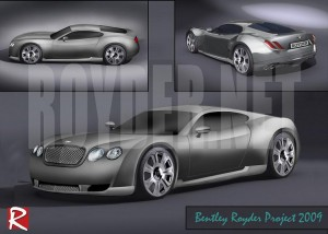 Дизайн на Bentley by Royder