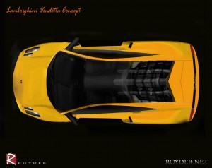 Lamborghini Vendetta Concept up